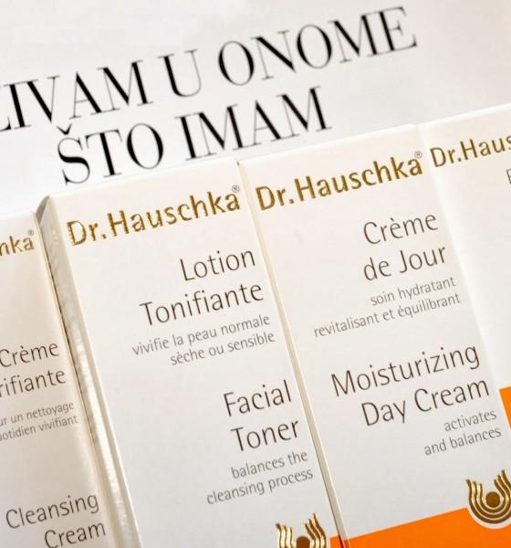 Nega lica uz Dr. Hauschka kozmetiku