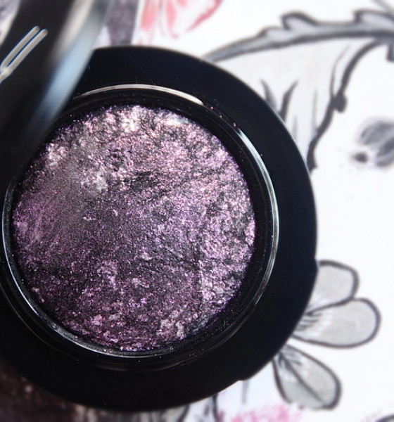 Ljubičasti smokey #eotd – MAC Young Punk