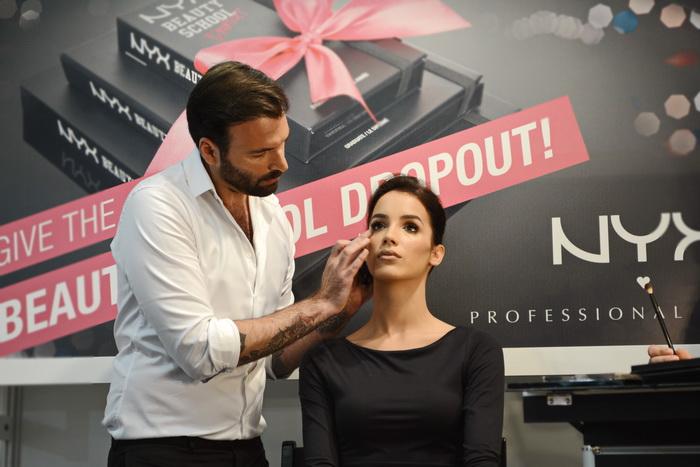 Dragan Vurdelja na sajmu kozmetike dijana golubovic 1