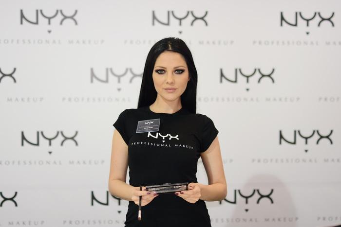 Marija Kostic profesionalni sminker NYX edukator sajam kozmetike
