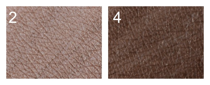 3d brow benefit swatches