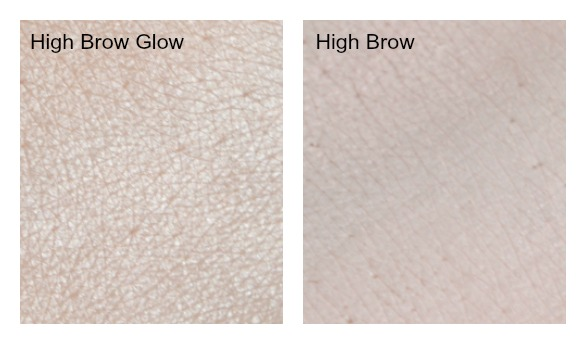 high brow benefit swatches
