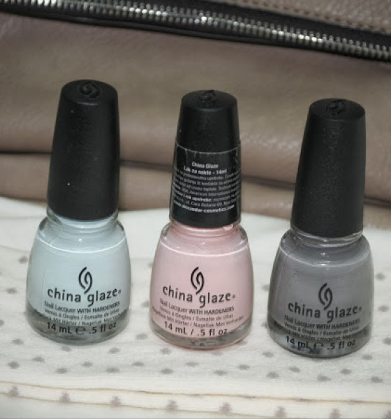 Paw love manicure with China Glaze polishes